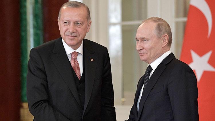 Son dakika... Cumhurbaşkanı Erdoğan Putin'le görüştü