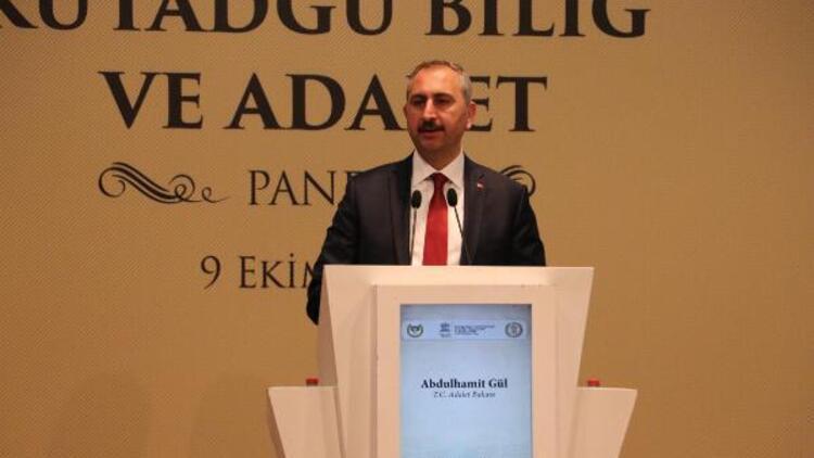 Adalet Bakanı Gül: Reform hayata geçtikçe yargıya olan güvenin artmasını sağlamış olacağız