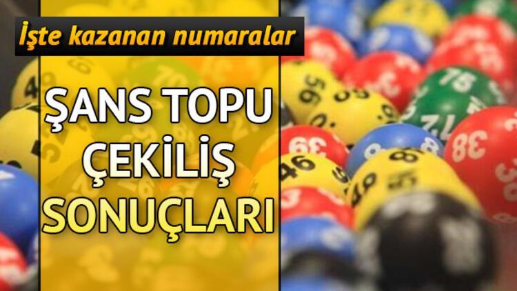 Şans Topu'nda 1 milyon devretti! 9 Ekim Milli Piyango Şans Topu çekiliş sonuçları