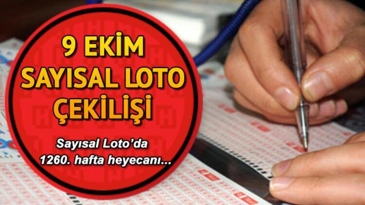 Sayısal Loto 6. kez devretti, ikramiye 11 milyona yaklaştı! 9 Ekim MPİ Sayısal Loto çekiliş sonuçları