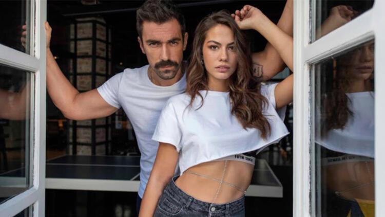 """Demet Özdemir ve İbrahim Çelikkol """"Evim"""" dizisinde buluşuyor"""