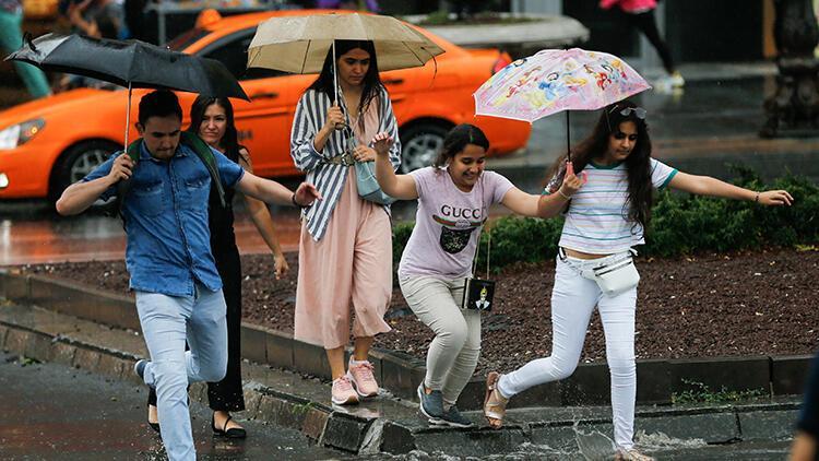Son dakika: Meteoroloji'den sağanak yağış uyarısı