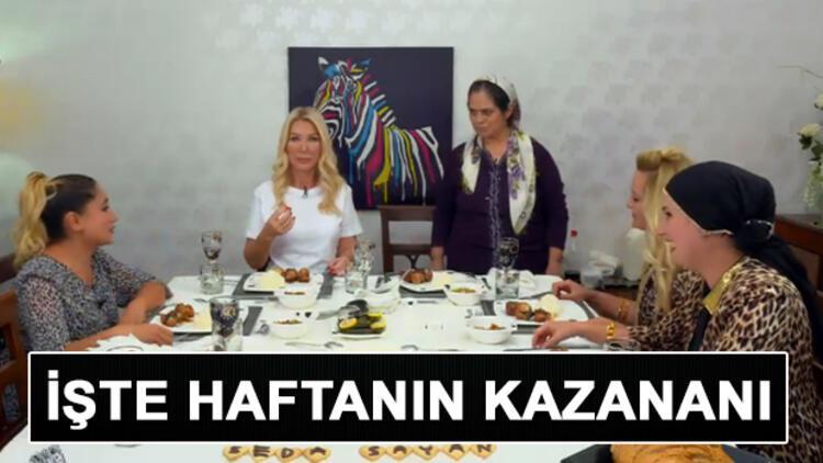 Seda Sayan ile Yemekteyiz'de birinci kim oldu? İşte 7 11 Ekim haftası Yemekteyiz kazananı