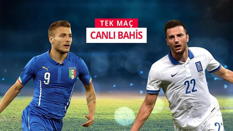 İtalya, Euro 2020'yi garantilemek için sahada! iddaa'da oynanması gereken...