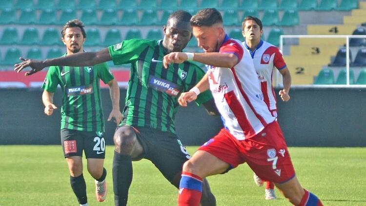 Denizlispor hazırlık maçında Altınordu'yu mağlup etti!