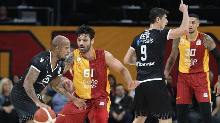 Galatasaray 74-65 Beşiktaş
