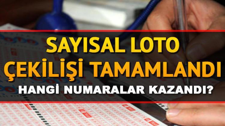 Sayısal Loto 7'nci devrini gerçekleştirdi! 12 Ekim Milli Piyango  Sayısal Loto çekiliş sonuçları
