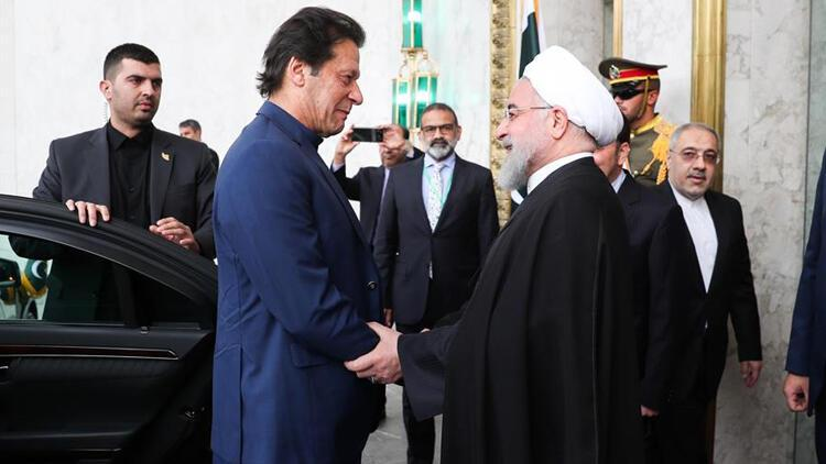 İmran Han İran-Suudi Arabistan ara buluculuğu için Tahran'da