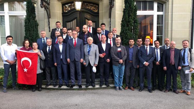 İsviçre'deki Türklerden Barış Pınarı harekâtına destek