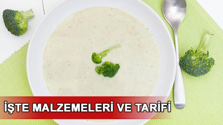 Brokoli çorbası nasıl yapılır? Brokoli çorbası tarifi ve hazırlanışı