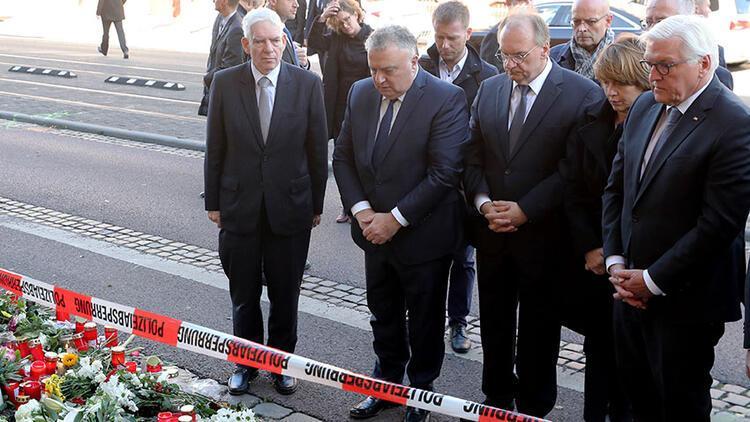 Saldırıya uğrayan dönerciye Steinmeier'den taziye