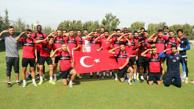 Hatayspor'da Adana Demirspor maçı hazırlıkları sürüyor