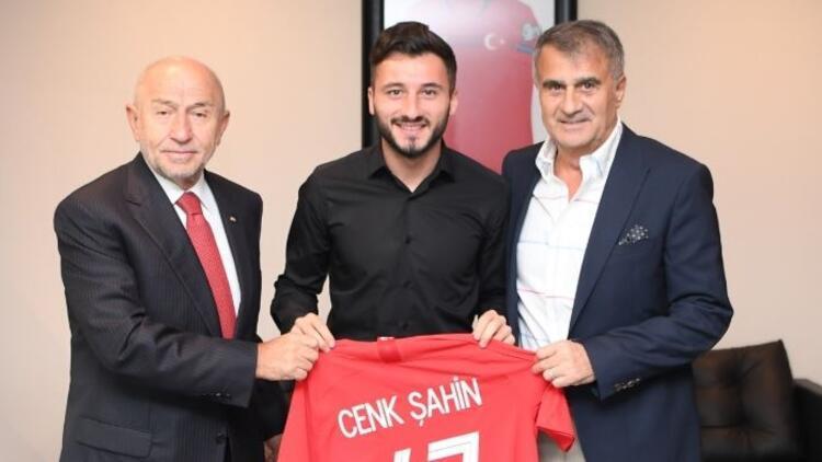 Enver Cenk Şahin'den TFF Başkanı Nihat Özdemir'e ziyaret