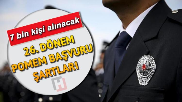 26. Dönem POMEM başvuruları ne zaman bitecek? İşte 7 bin polis alımı başvuru şartları