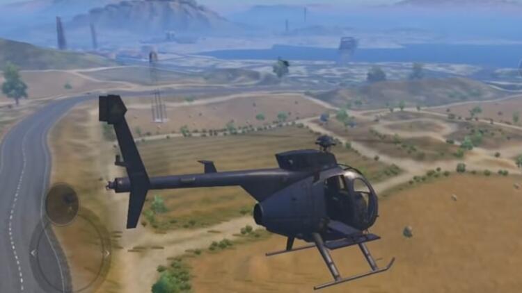PUBG helikopter hangi haritada? PUBG mobile helikopter modu
