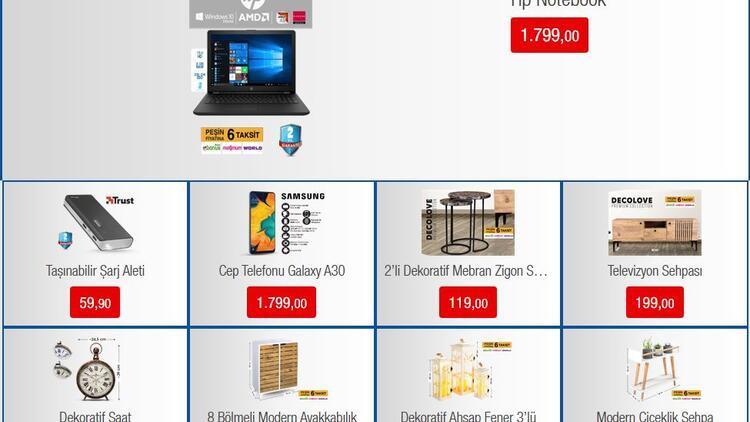 18 Ekim BİM aktüel ürünler kataloğu içinde laptop bilgisayar dikkat çekiyor!