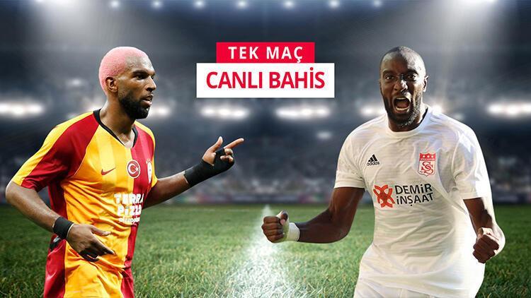 Lig ikincisi Sivasspor, Galatasaray'a karşı! iddaa'da sürpriz öneri...