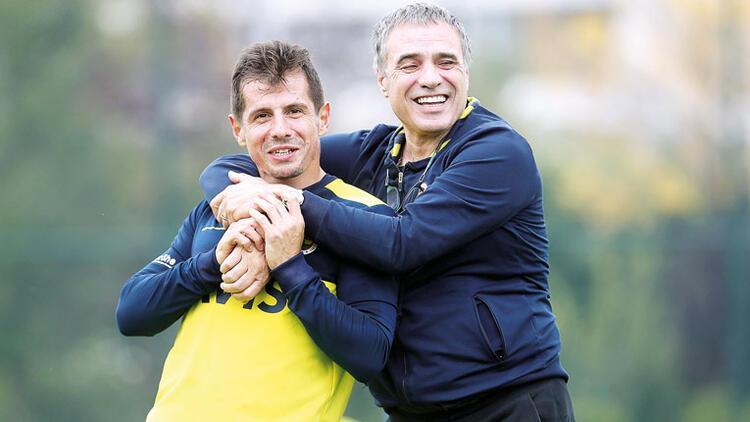 Fenerbahçe'de Hasan Ali ve Rodrigues sevinci