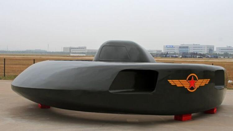 Çin'den uçan daire helikopteri: Süper Büyük Beyaz Köpekbalığı