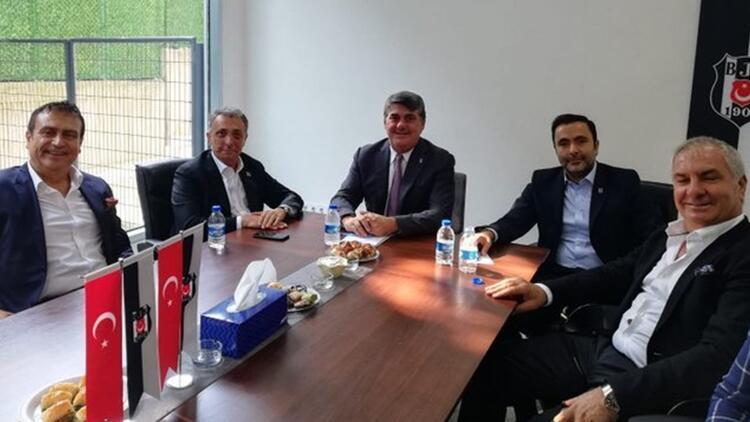 Ahmet Nur Çebi, Serdal Adalı'yı ziyaret etti! Seçim öncesi...