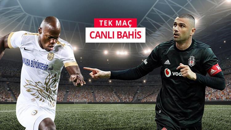Beşiktaş, 5 eksikle Ankara'da! iddaa'da öne çıkan tercih...