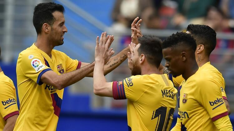 Eibar 0-3 Barcelona