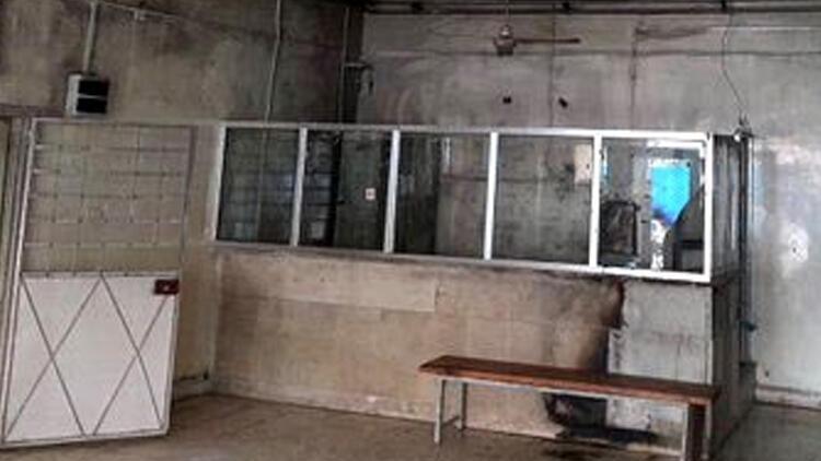 Teröristler, Tel Abyad Hastanesi'nde cihazları yakmış
