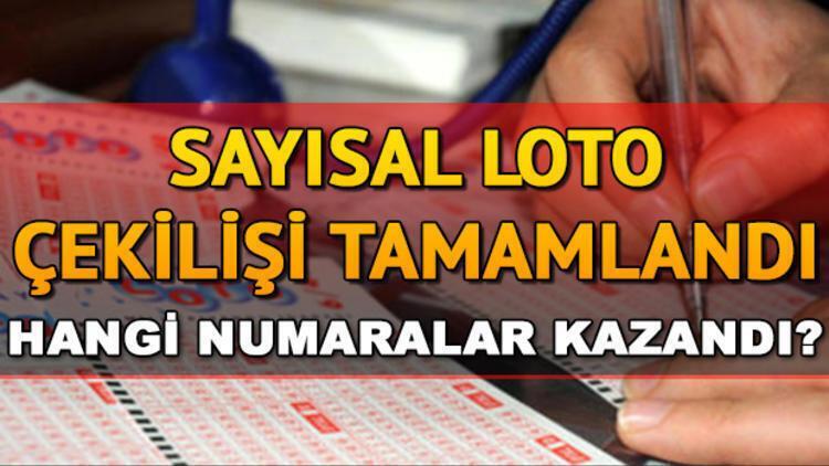 Sayısal Loto'da 2 milyon TL sahibini buldu! 19 Ekim MPİ Sayısal Loto çekiliş sonuçları