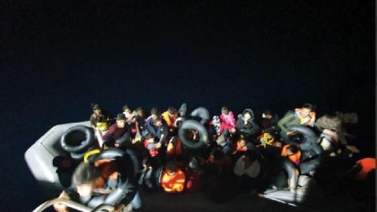 İzmir'de 378 kaçak göçmen yakalandı