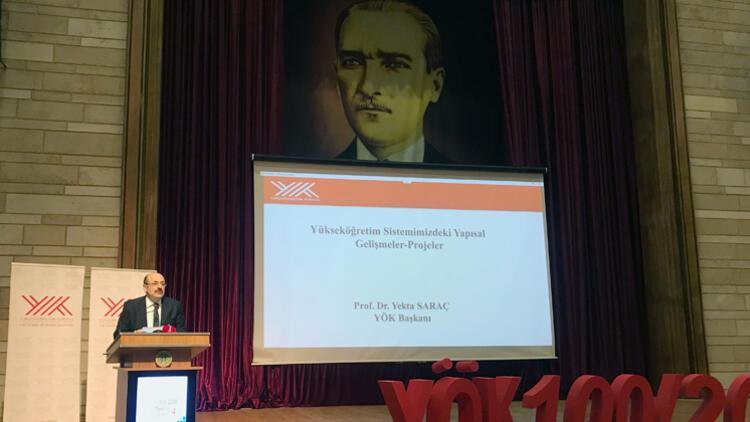 YÖK Başkanı Saraç: Üniversiteli sayısı 8 milyona yaklaştı