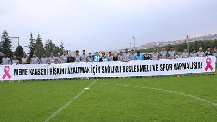 Trabzonspor'dan meme kanserine karşı farkındalık!