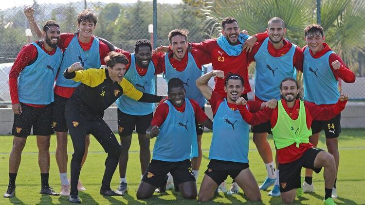 Göztepe'de Kasımpaşa maçı hazırlıkları sürüyor
