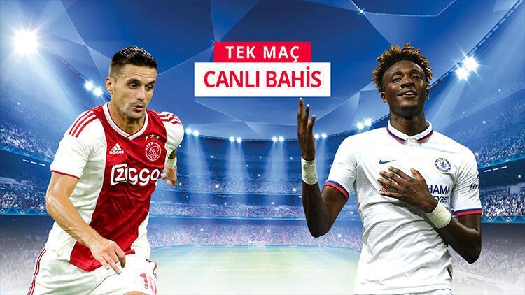 Şampiyonlar Ligi maçları TEK MAÇ! Ajax'ın galibiyetine iddaa'da...