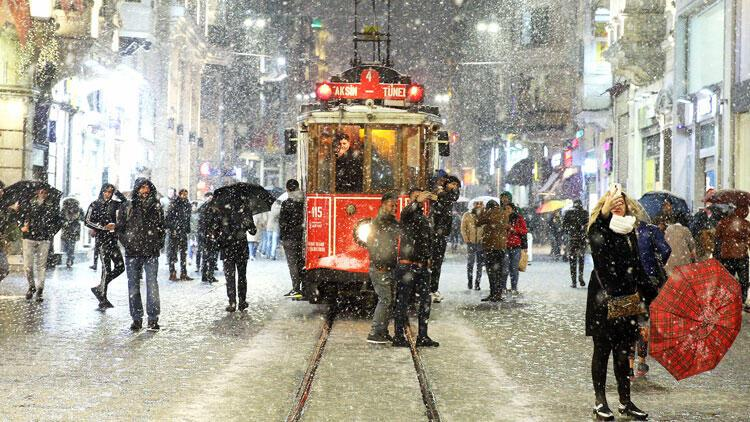 """Meteorolojiden """"İstanbul'da kasımda kar yağışı"""" iddiasına ilişkin açıklama"""