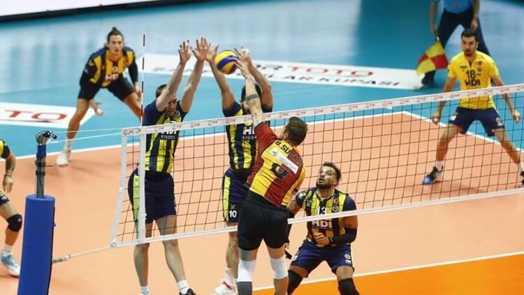 Fenerbahçe'yi mağlup eden Galatasaray şampiyon