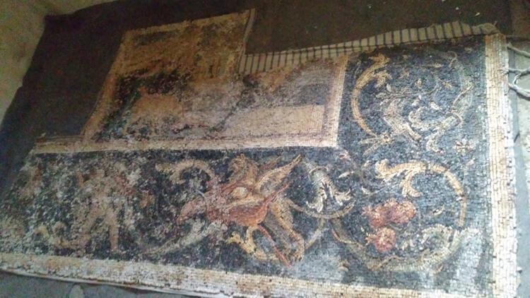 Hatay'da mozaik operasyonu