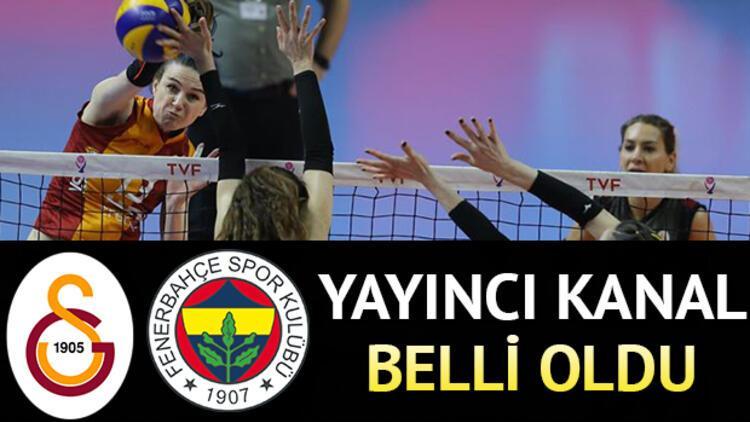 Galatasaray Fenerbahçe voleybol maçı ne zaman saat kaçta ve hangi kanalda?
