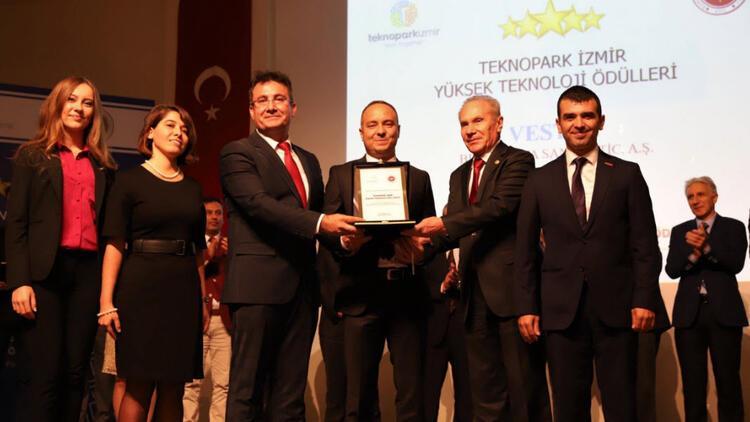 'Yüksek Teknoloji Ödülü'nü Vestel aldı