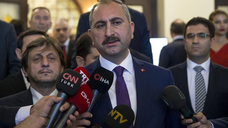 Adalet Bakanı Gül: Çalışmalar devam edecek