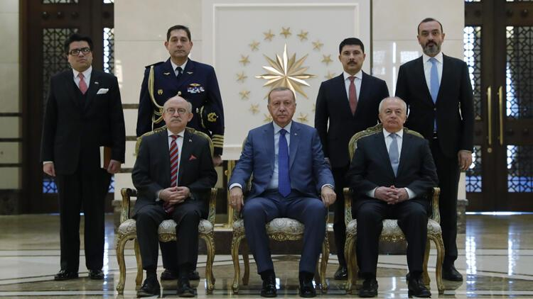 Cumhurbaşkanı Erdoğan,  Şili'nin Ankara Büyükelçisi Latorre'yi kabul etti