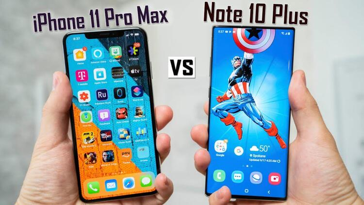 Batarya ömrü en iyi hangisi: iPhone 11 Pro Max mi Galaxy Note 10 Plus mı?