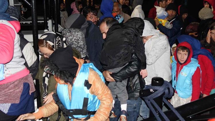 Çanakkale'de 96 kaçak göçmen yakalandı