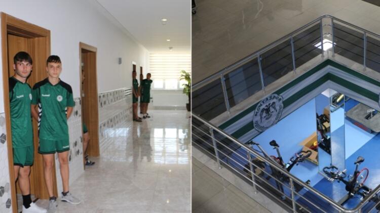 Konyaspor'un altyapı tesisi, Avrupa standartlarında!