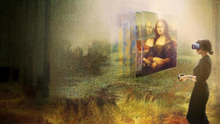 Sanal gerçeklikte Mona Lisa
