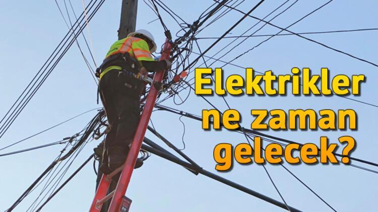 İstanbul elektrik kesintilerinde son durum.. Elektrikler ne zaman gelecek?