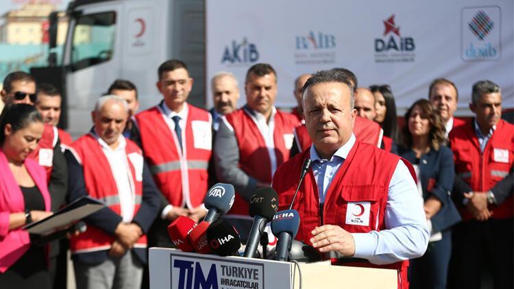 Türkiye İhracatçılar Meclisi'nden insani yardım
