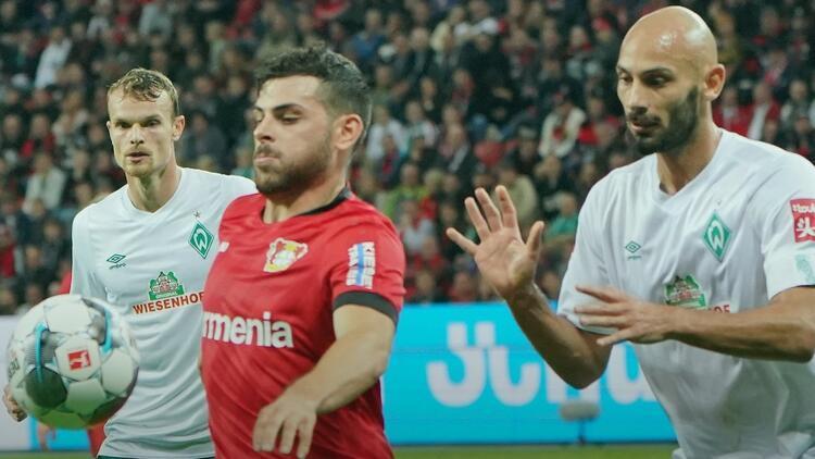 Bremen, Leverkusenle yenişemedi Ömer Toprak ve Nuri Şahin forma giydi...