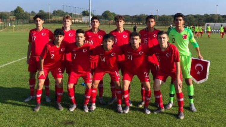 15 Yaş Altı Milli Takımımız, Çin'i 2-0 yendi! Turnuvada ikinci olduk...