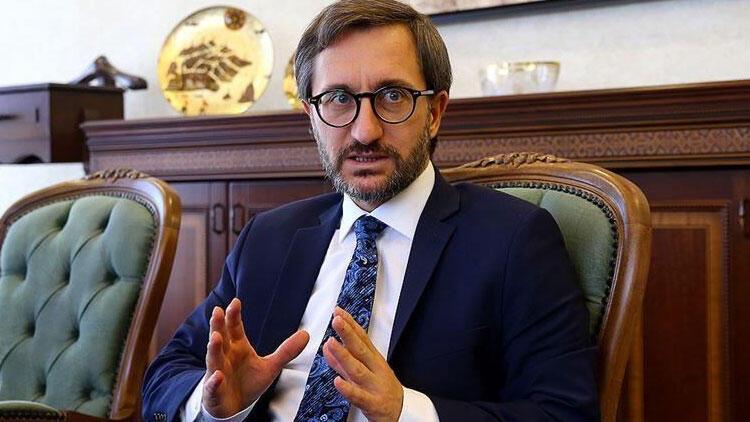 İletişim Başkanı Fahrettin Altun Reuters'a konuştu
