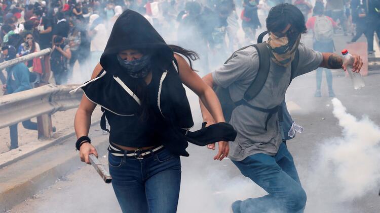 Latin Amerika'da sokakların ateşi yüksek